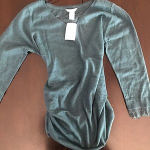 H&M maternity sweater new large
